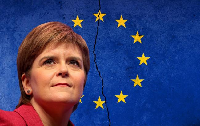 First Minister Nicola Sturgeon said it was time for Scotland to speak up for its interests in Europe