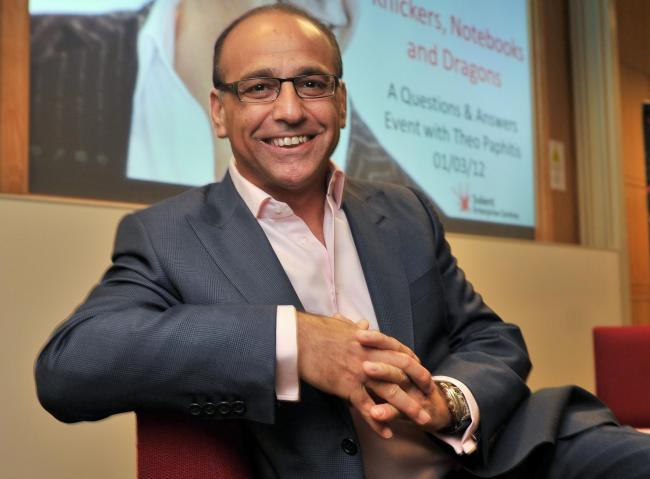 Businessman and Dragons' Den star Theo Paphitis