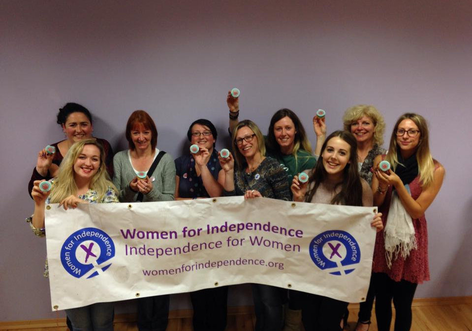 Gillian Martin and the 'Quines for Indy'