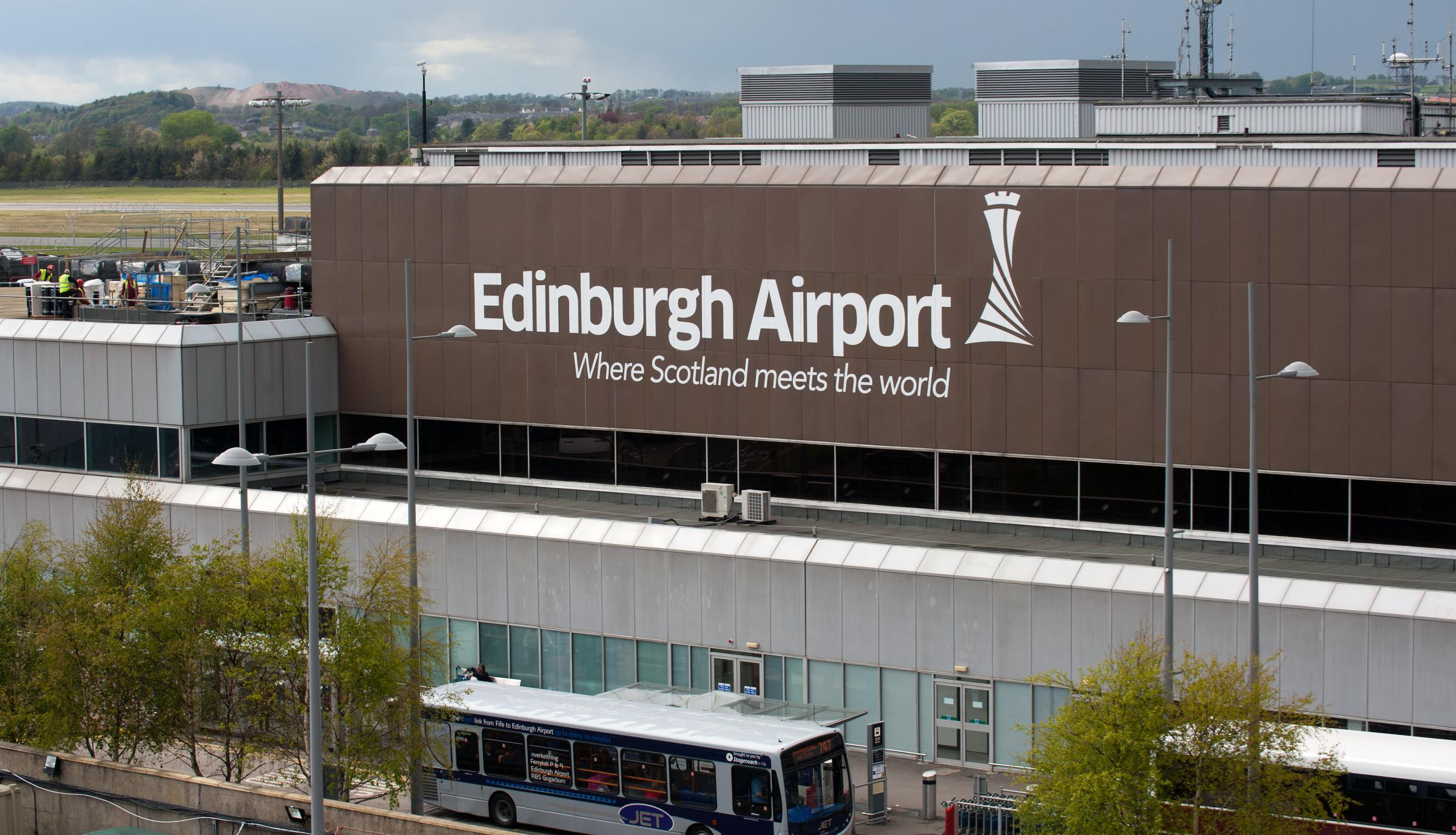 13 million passengers passed through Edinburgh airport in 2017