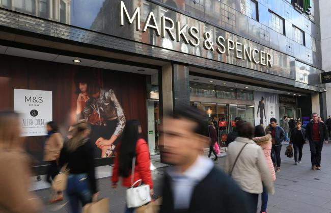 M&S said the response from its customer service representative in no way reflected its views