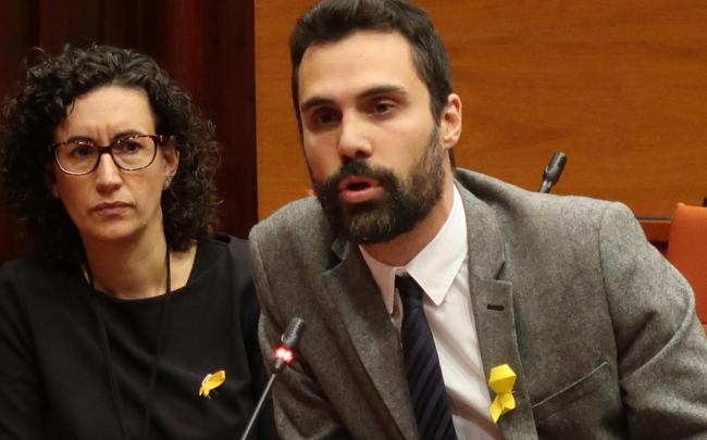 Roger Torrent is the ERC's choice for the new president of the parliament