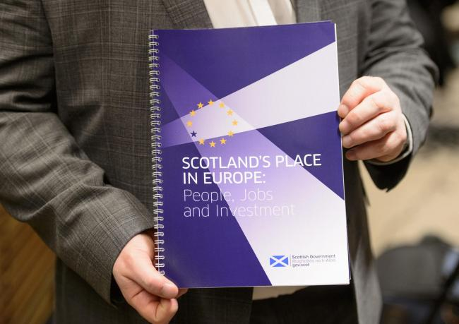 The Scottish Government's report is a solid piece of serious work