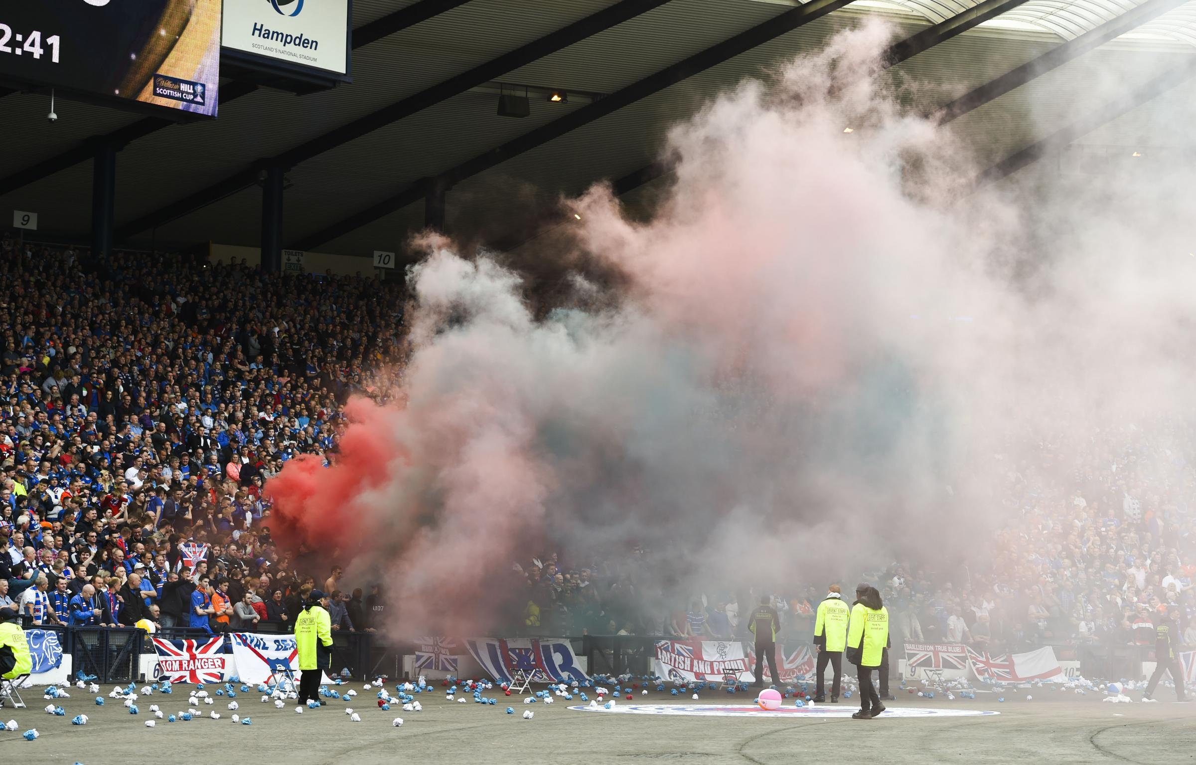 The Act aims in part to tackle bigotry at Scottish football matches