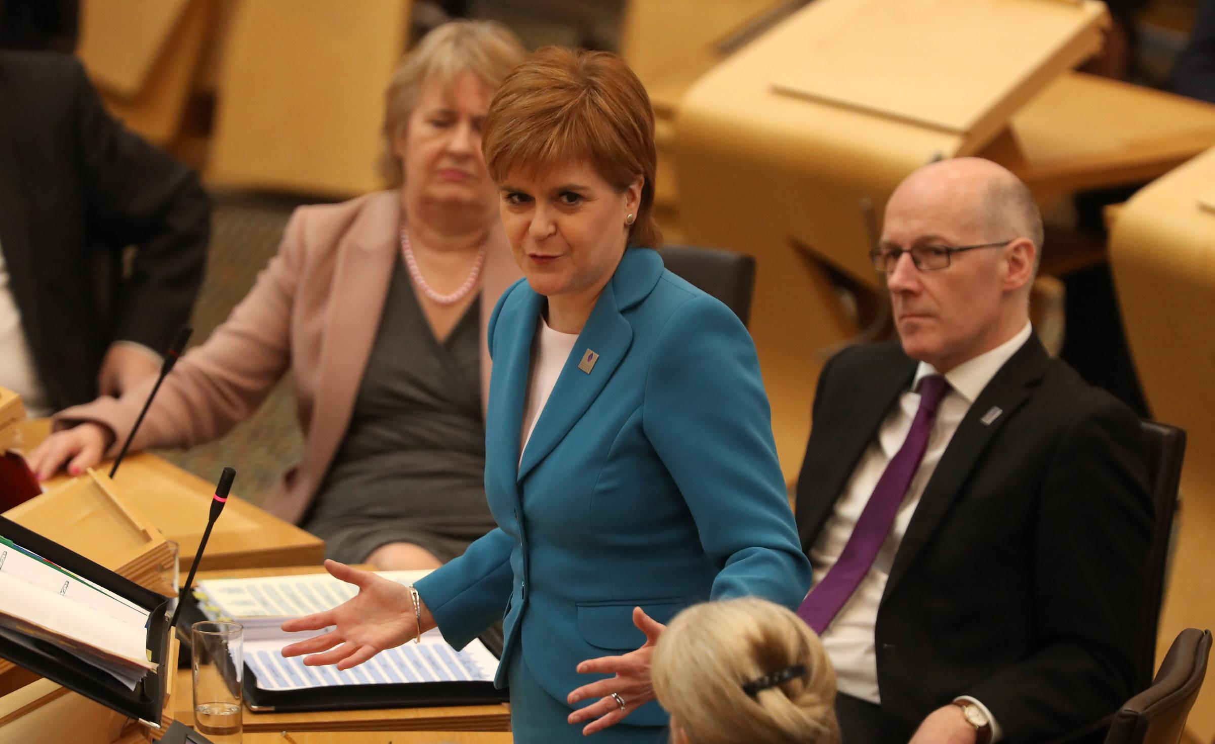 Leaked UK government papers a 'watershed moment' in Brexit negotiations, says Nicola Sturgeon
