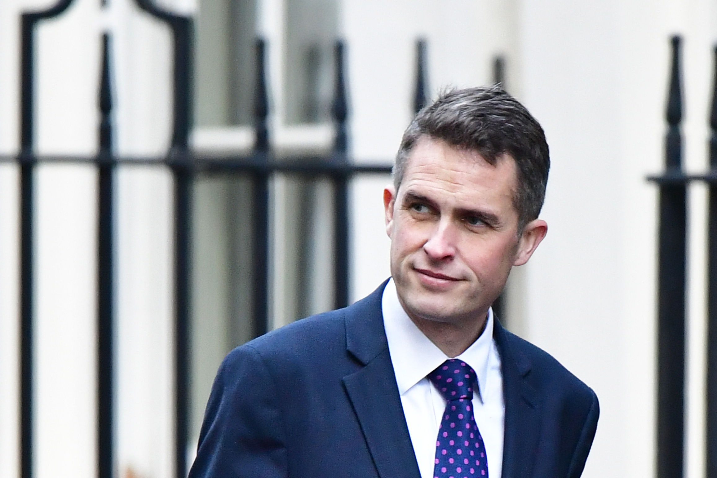 Defence Secretary Gavin Williamson wants EU flags off MoD buildings