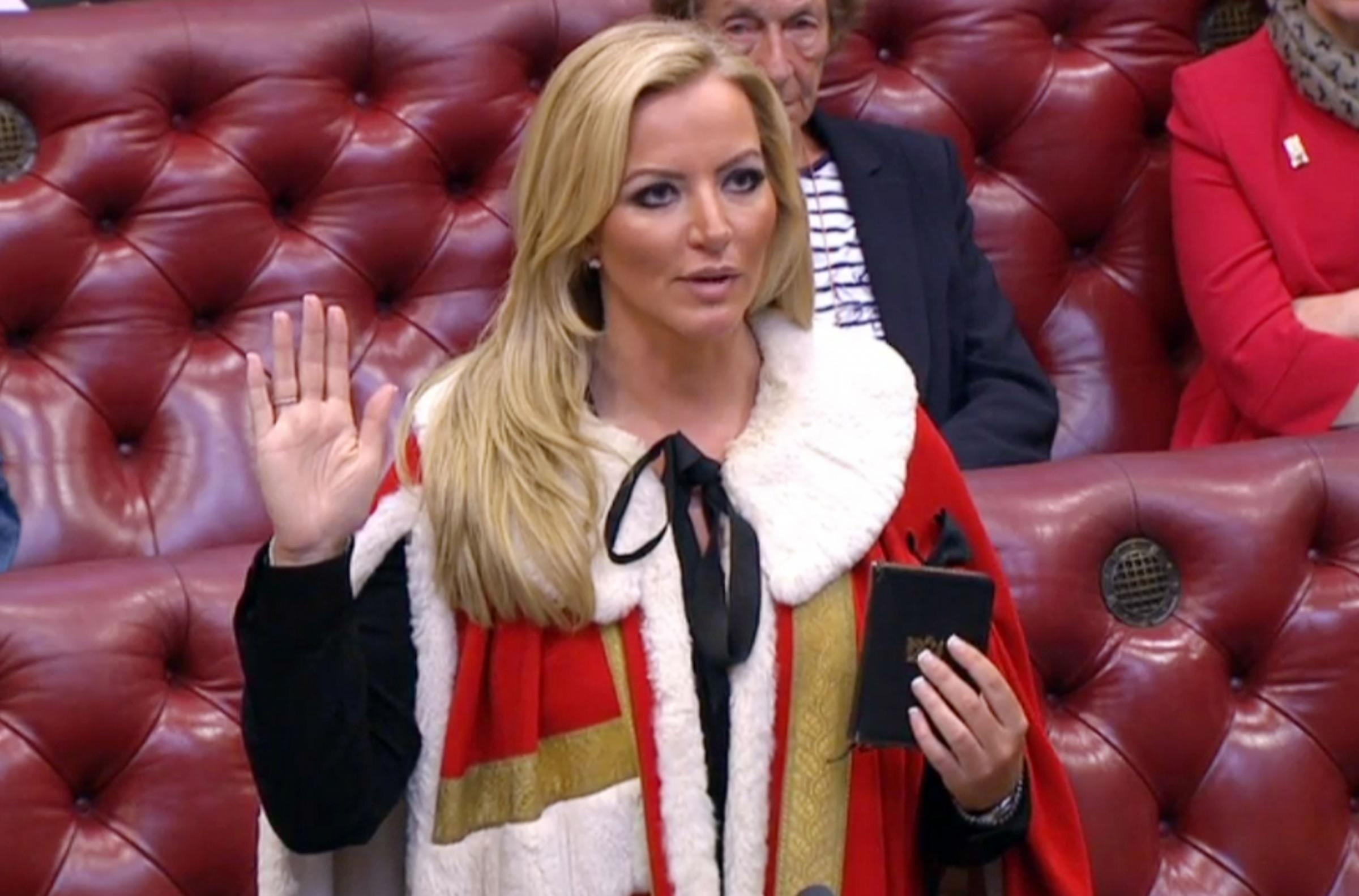 Tory Lord Michelle Mone