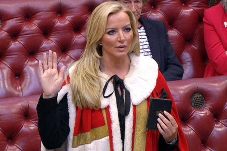 Baroness Mone brands Glasgow MP an 'SNP MORON' during Twitter spat