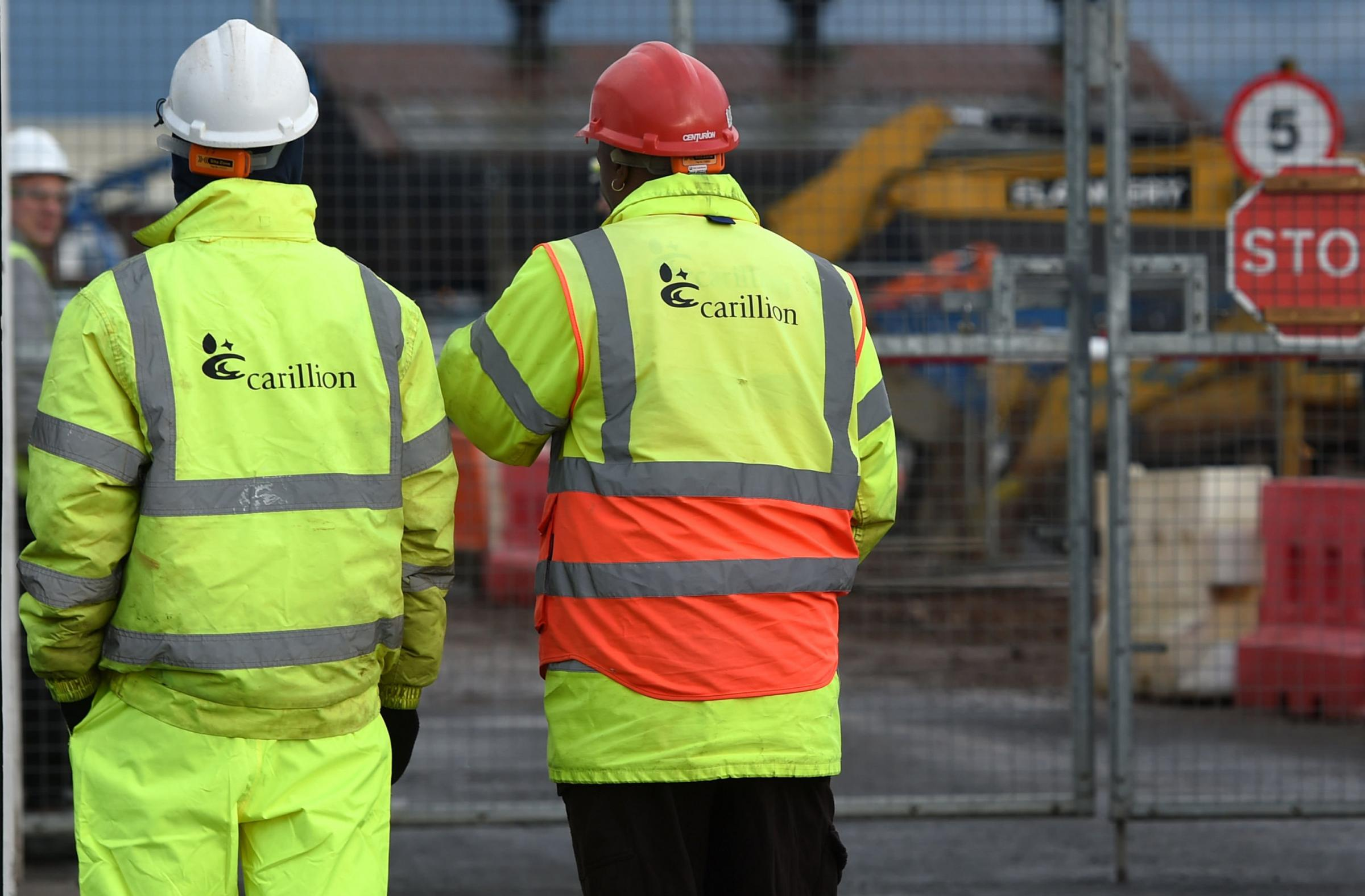 The future                  for thousands of Carillion workers is uncertain