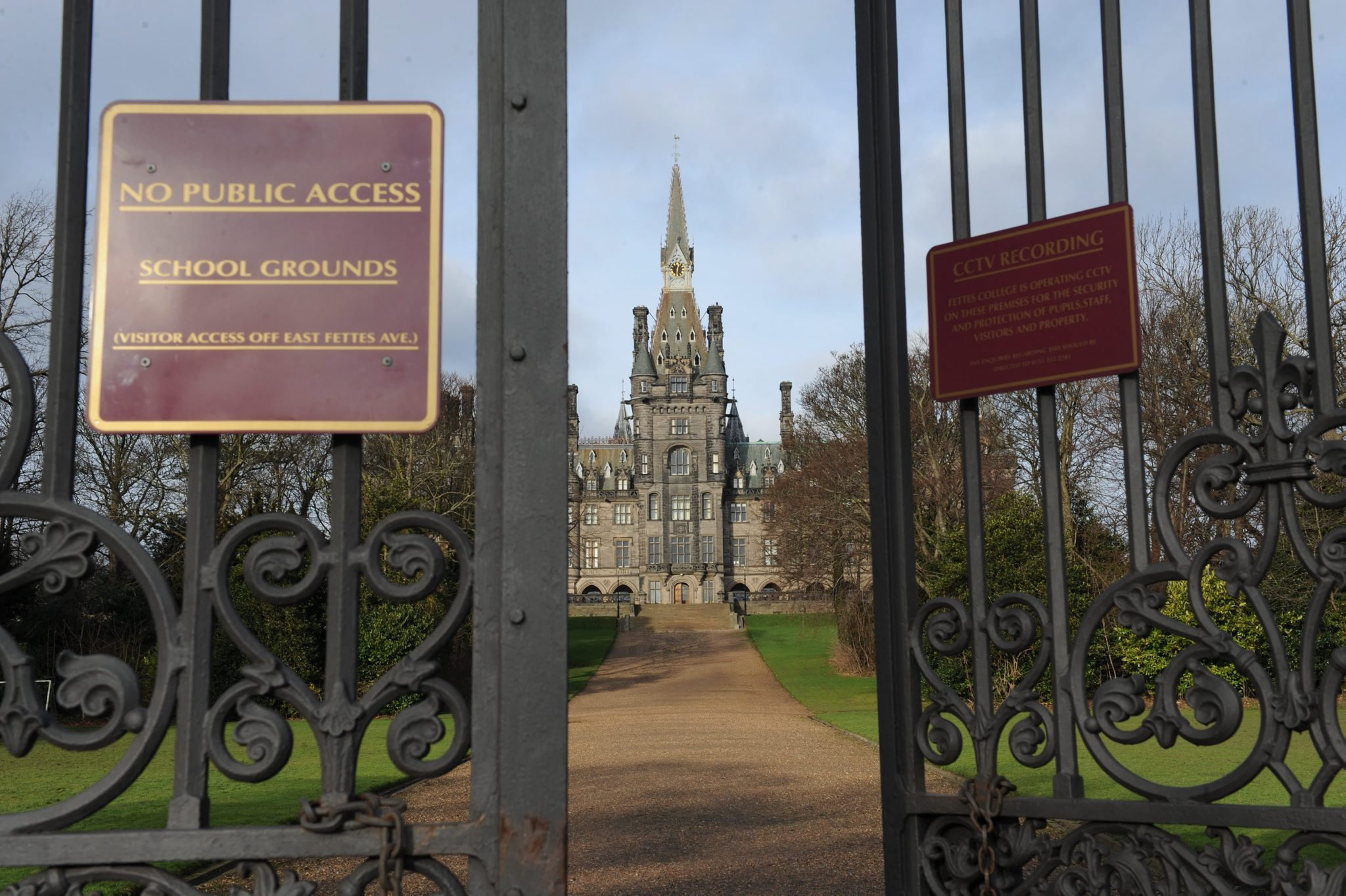 Privates schools such as Fettes in Edinburgh continue to be able to claim charitable status