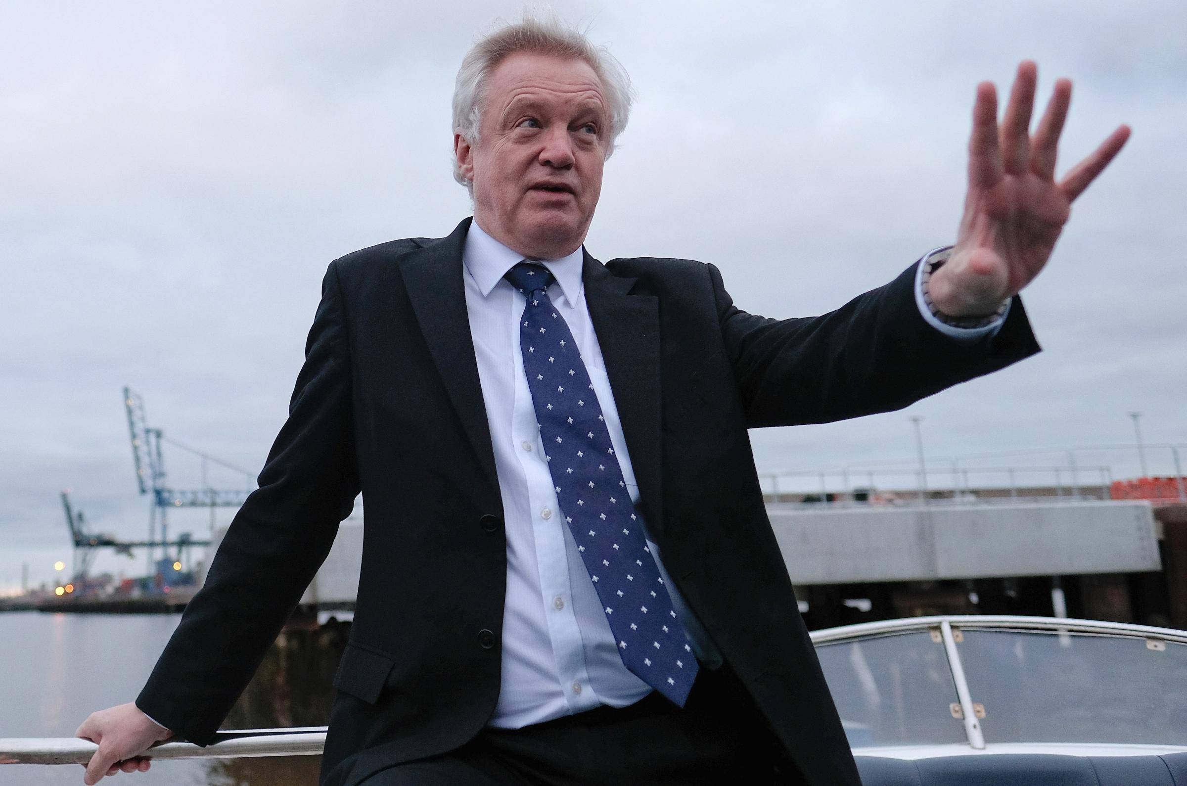 Brexit Secretary David Davis wants the Westminster government to have some influence over any new EU laws implemented during the transition period