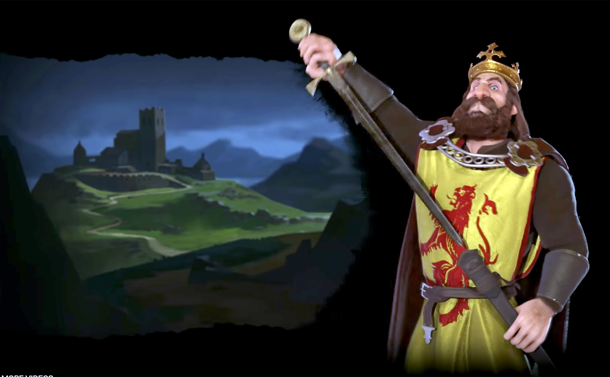 Robert The Bruce will feature in the new Civilisation VI expansion Rise and Fall