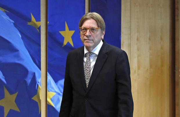 The National: Guy Verhofstadt said the EU must stand united in defending its interests