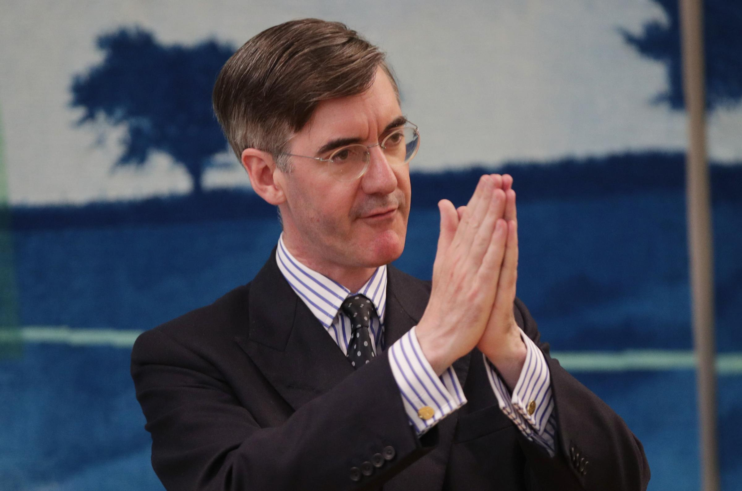 Jacob Rees-Mogg openly declared his leadership of the European Research Group