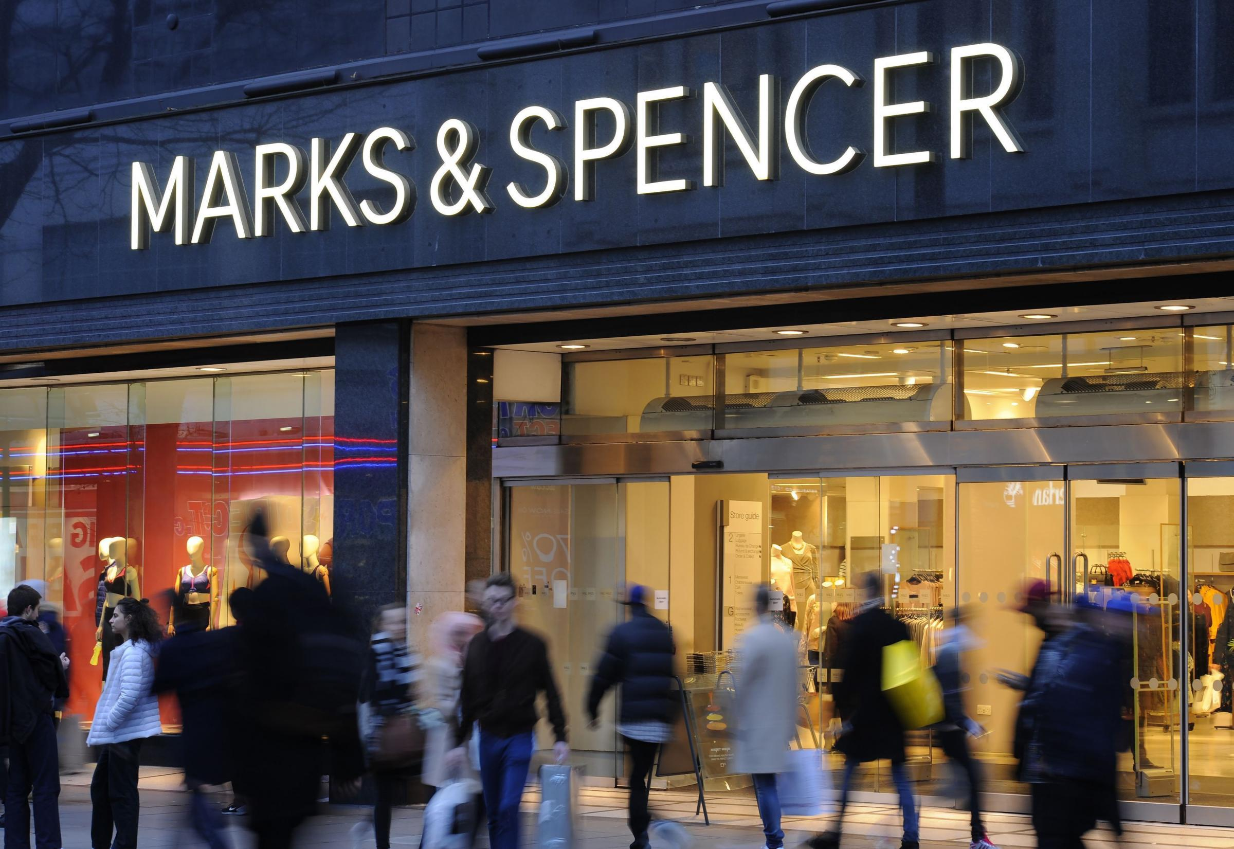 Two Scottish M&S stores are among 14 set to go