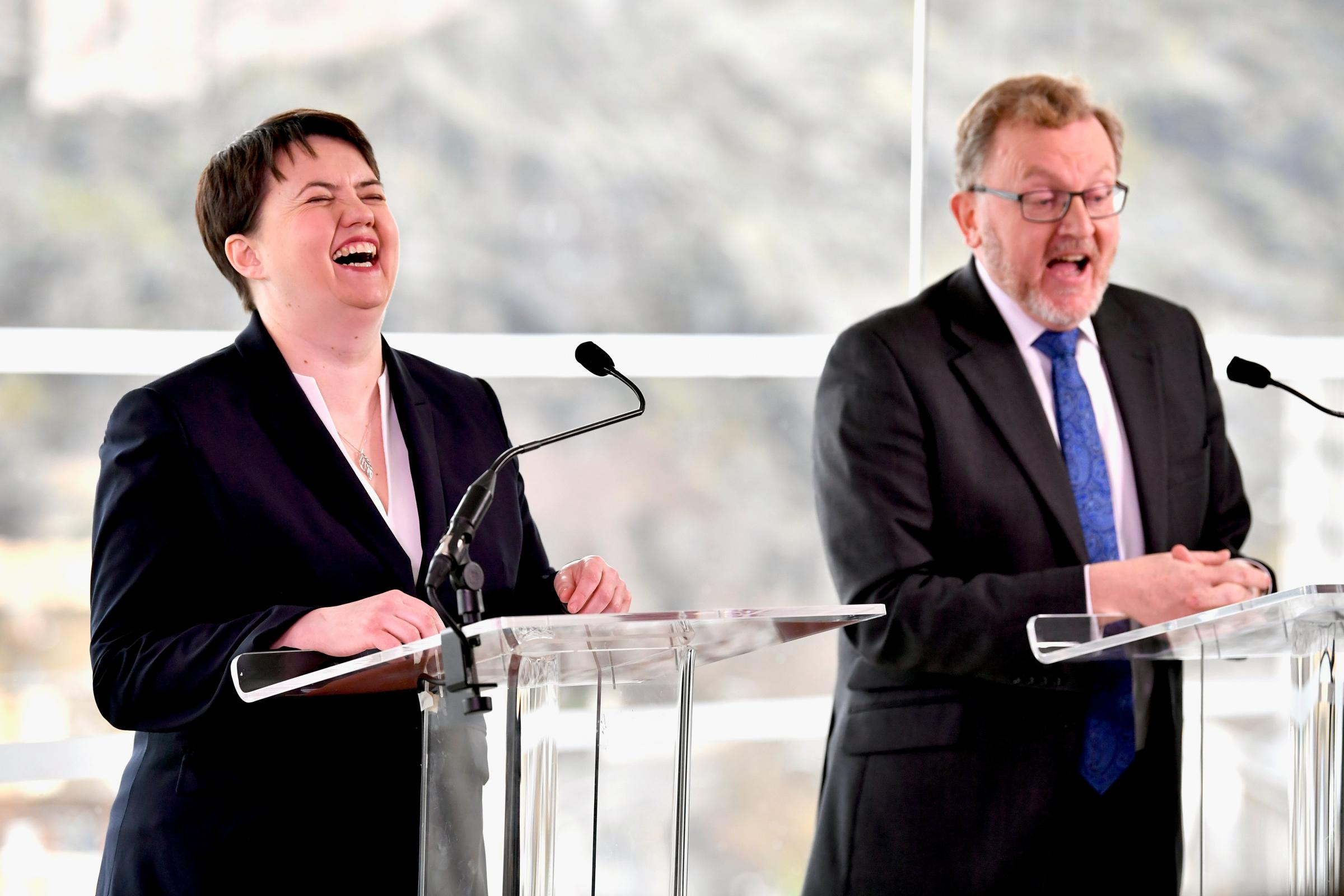 Were Ruth Davidson and David Mundell kept in the dark by their own Government?