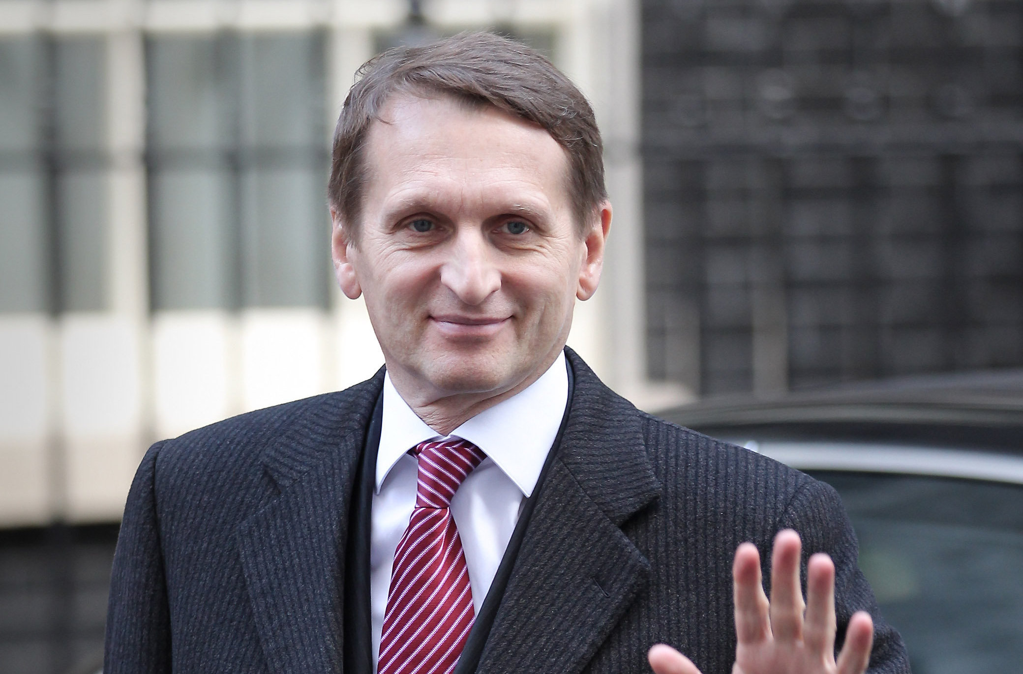 Sergei Naryshkin was sanctioned by the US in 2014 in response to Russian aggression in Ukraine. Photograph: Getty