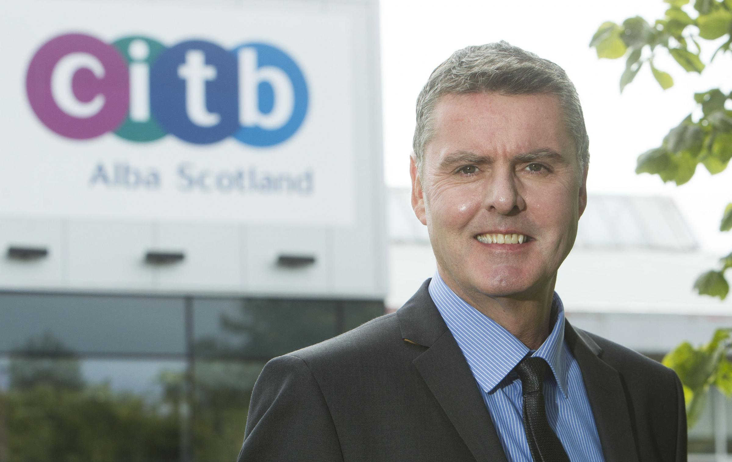 Ian Hughes, partnership director at CITB Scotland