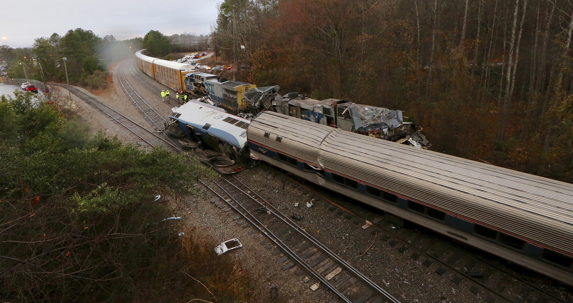 Two people dead after second passenger train crash in a week