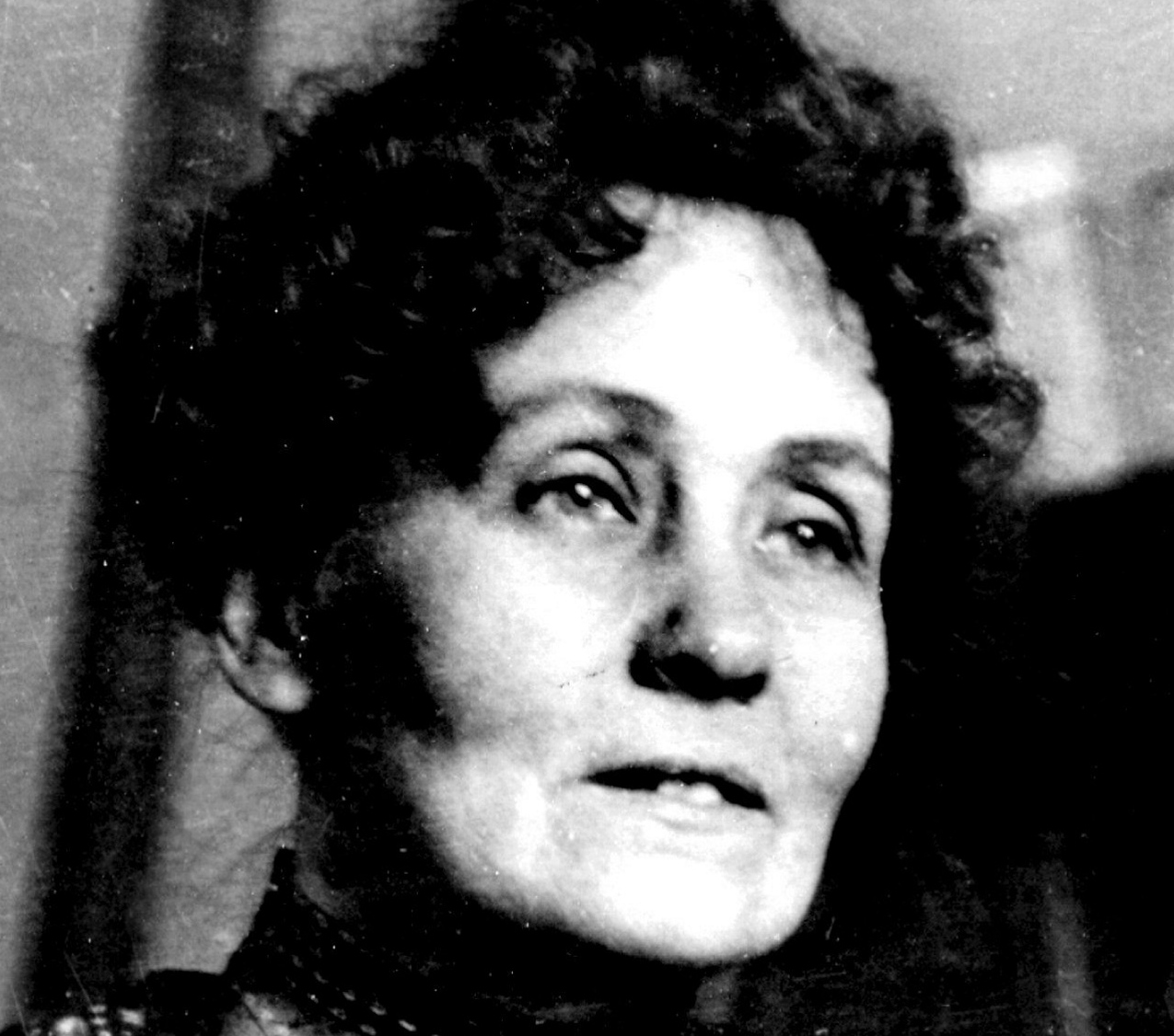 1858 SUFFRAGETTE EMMELINE PANKHURST WAS BORN IN MANCHESTER..PIC: UNKNOWN.