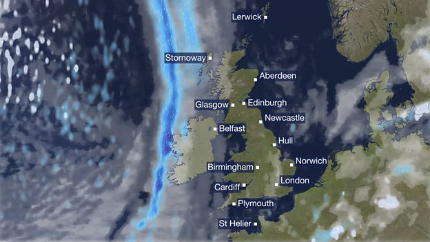 Scotland is now finally the right size on BBCs new weather map