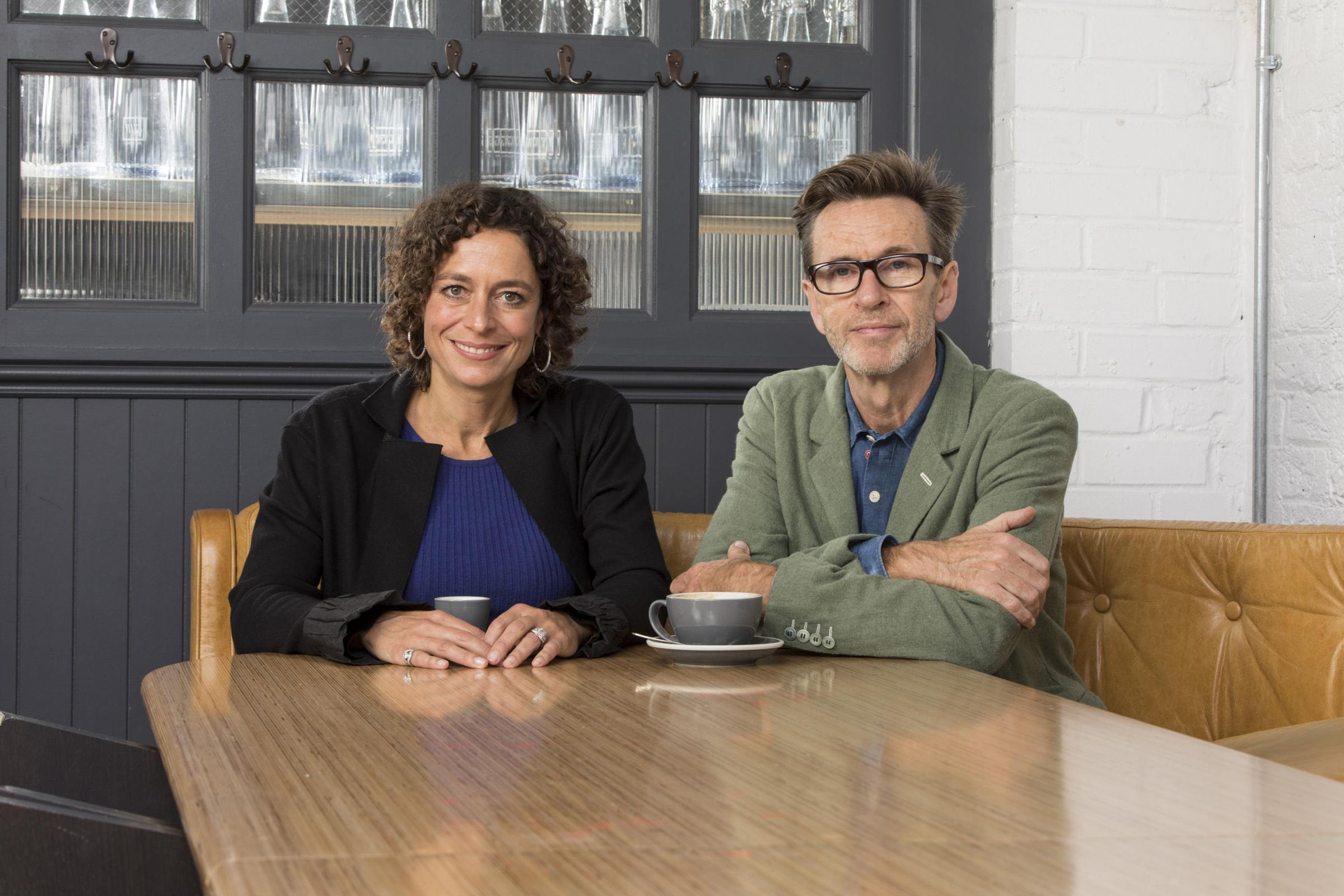 Alex Polizzi and Oliver Peyton begin their new series