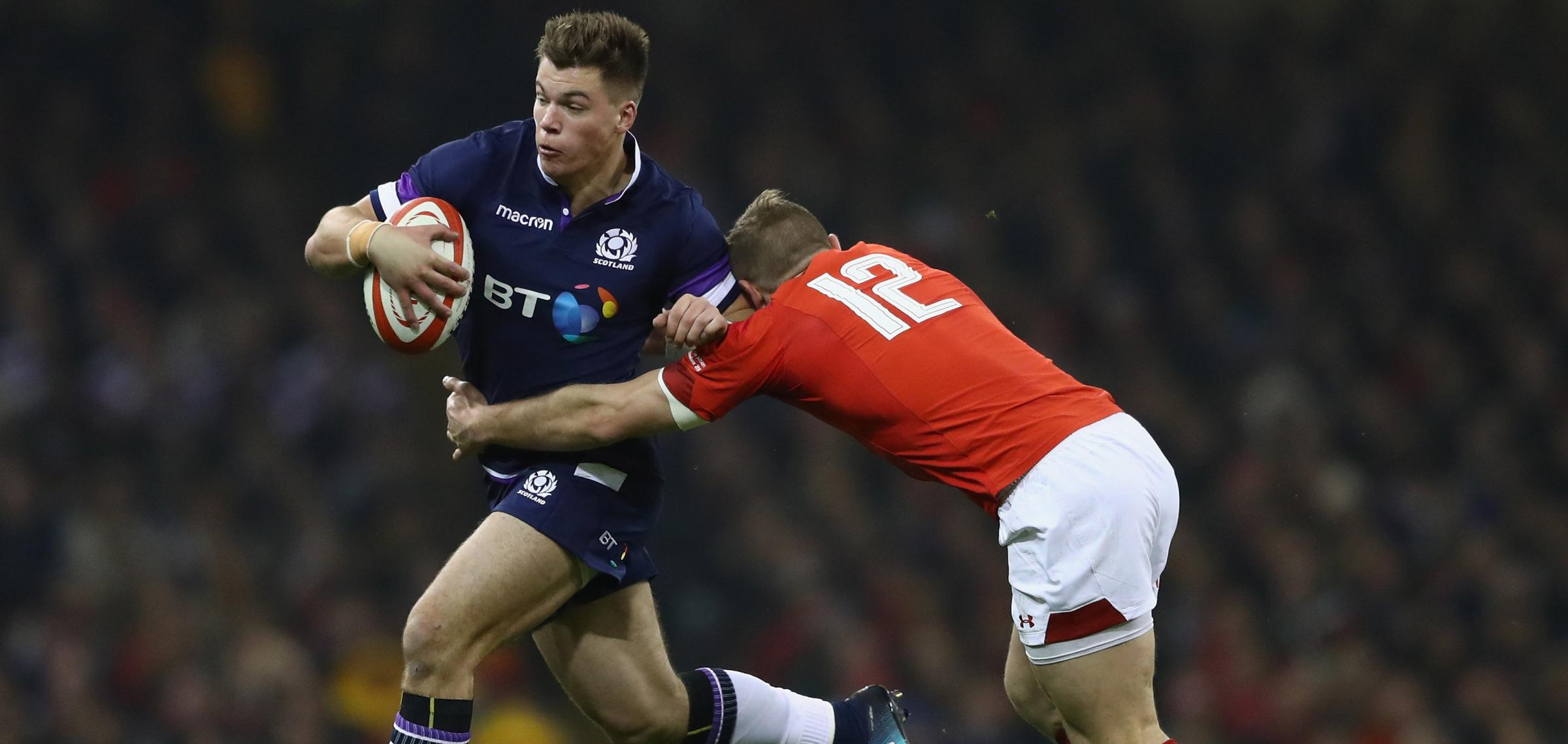 Whummelt doon in Wales: Scotland were blawn aff the baa in Cardiff. Photograph: Getty