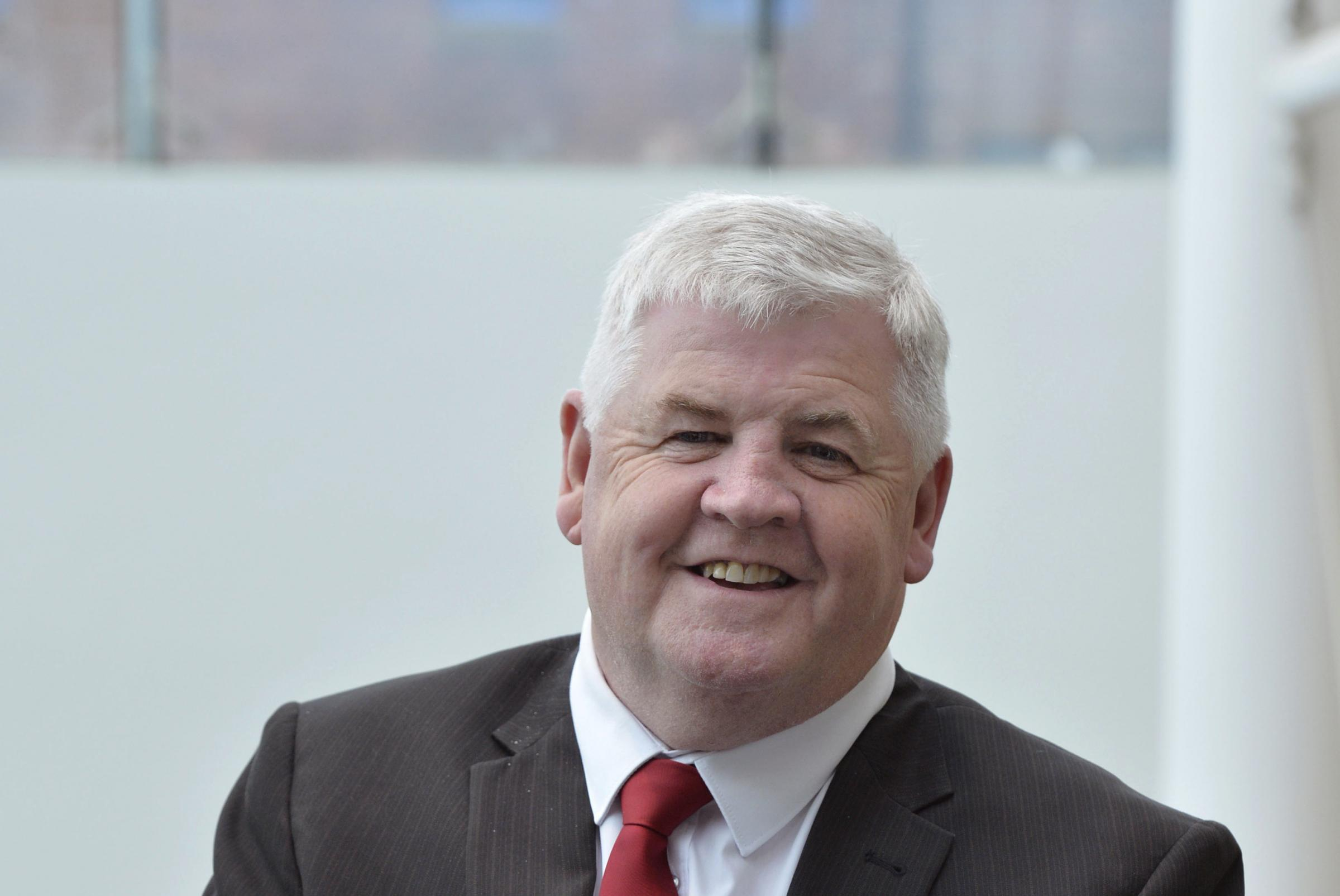 Hugh Gaffney has admitted using 'deeply offensive' language during a Burns Supper speech and has agreed to go to equality and diversity training