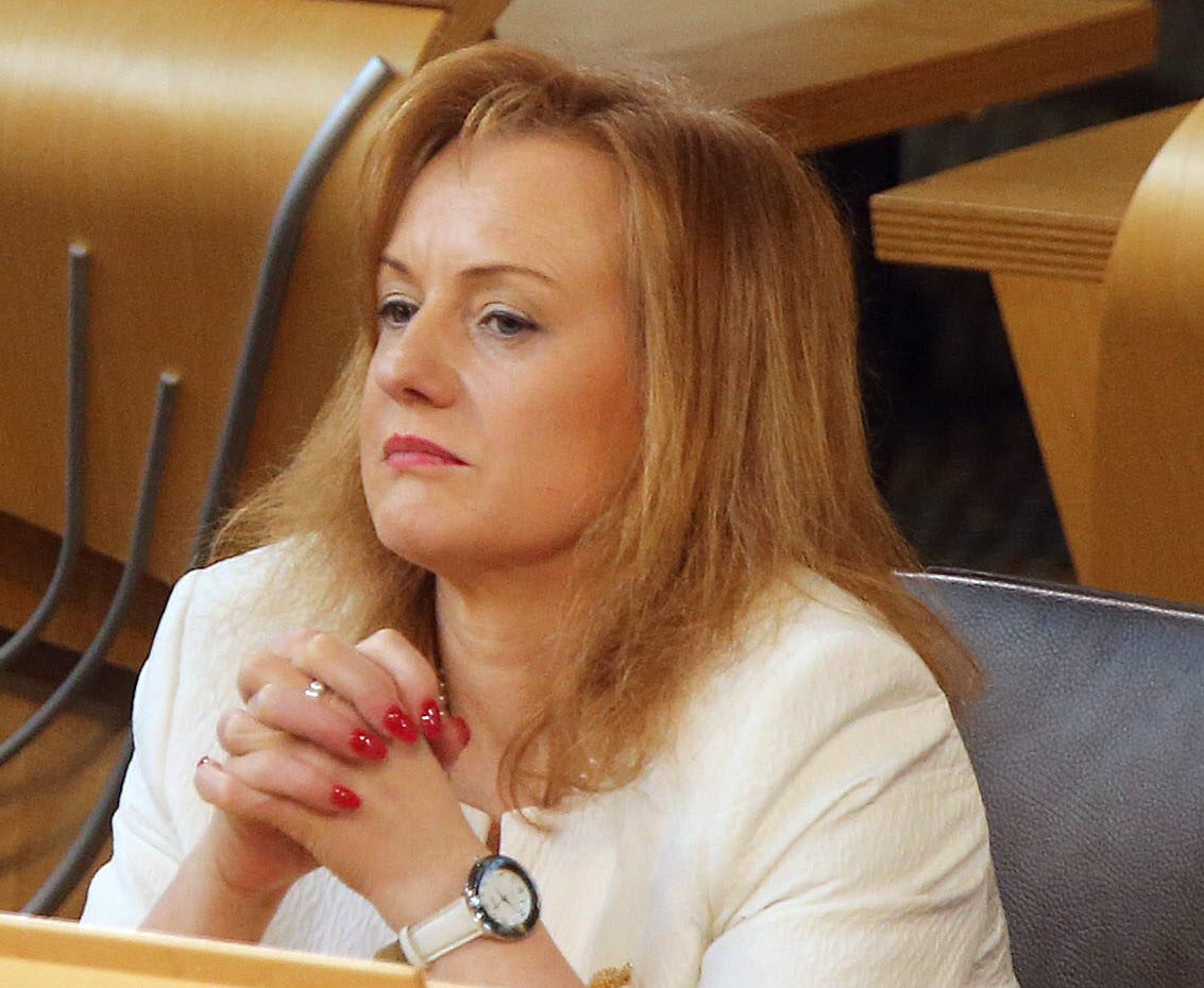 Joan McAlpine was gobsmacked to receive the missive from the Department for Exiting the EU at lunchtime yesterday
