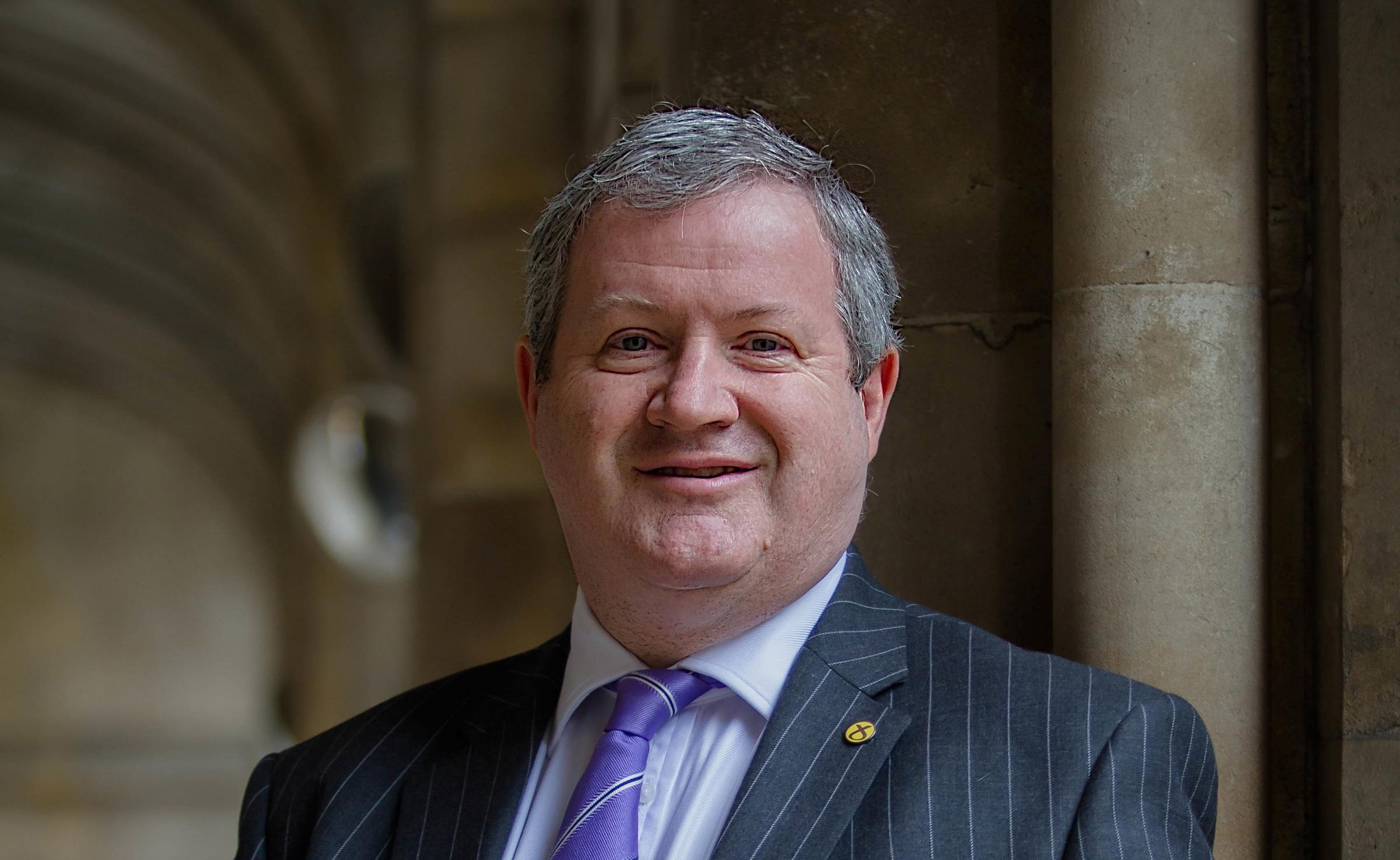 The SNP's Ian Blackford has been criticised