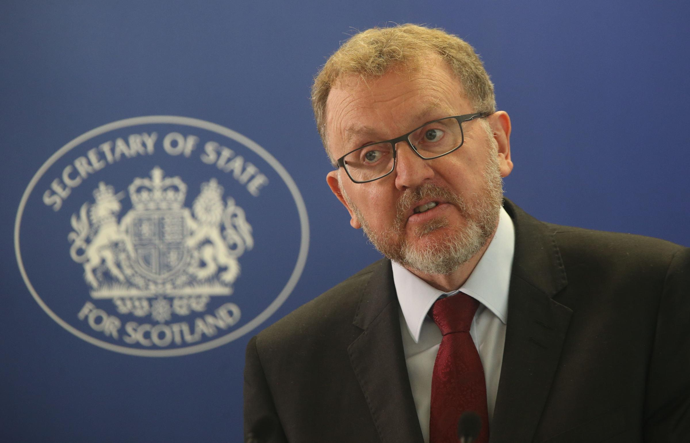 Scotland Secretary David Mundell was accused of continuing to fail Scotland
