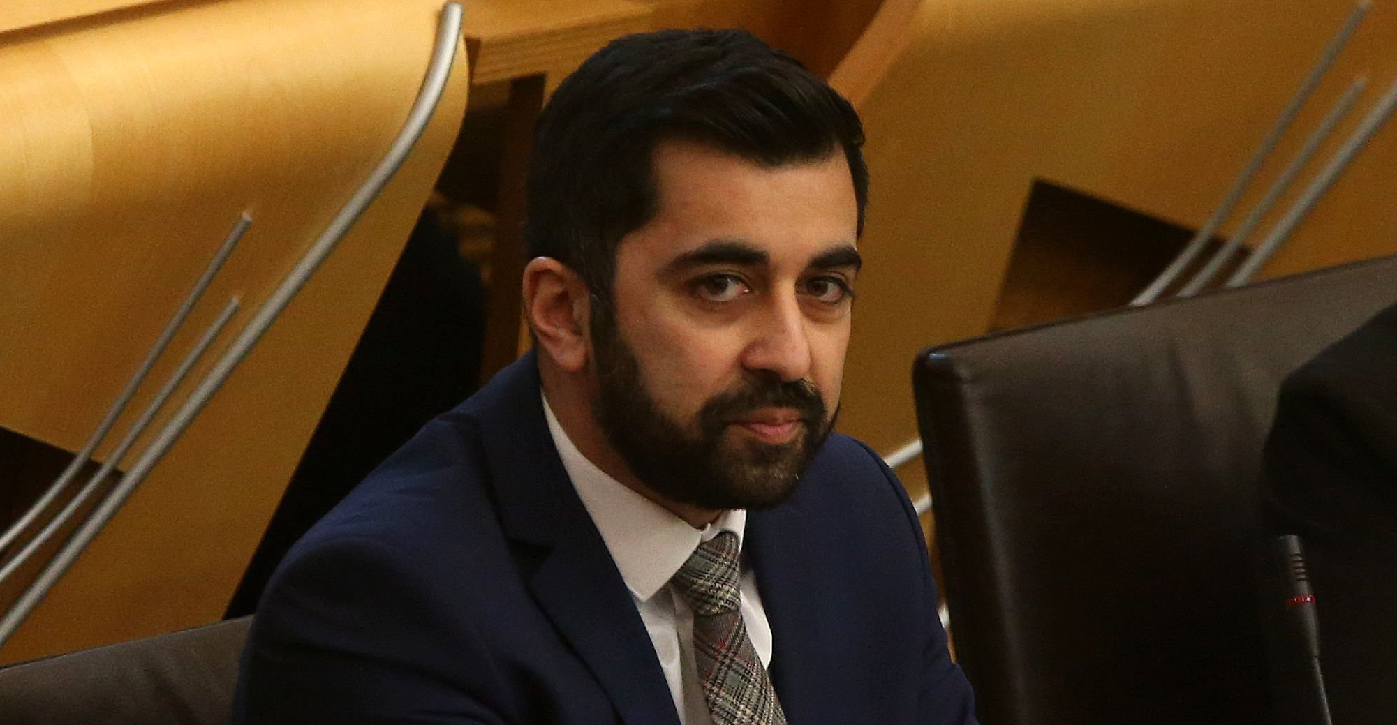 Transport Secretary Humza Yousaf says Gaffney received 'barely a tickle on the wrist'