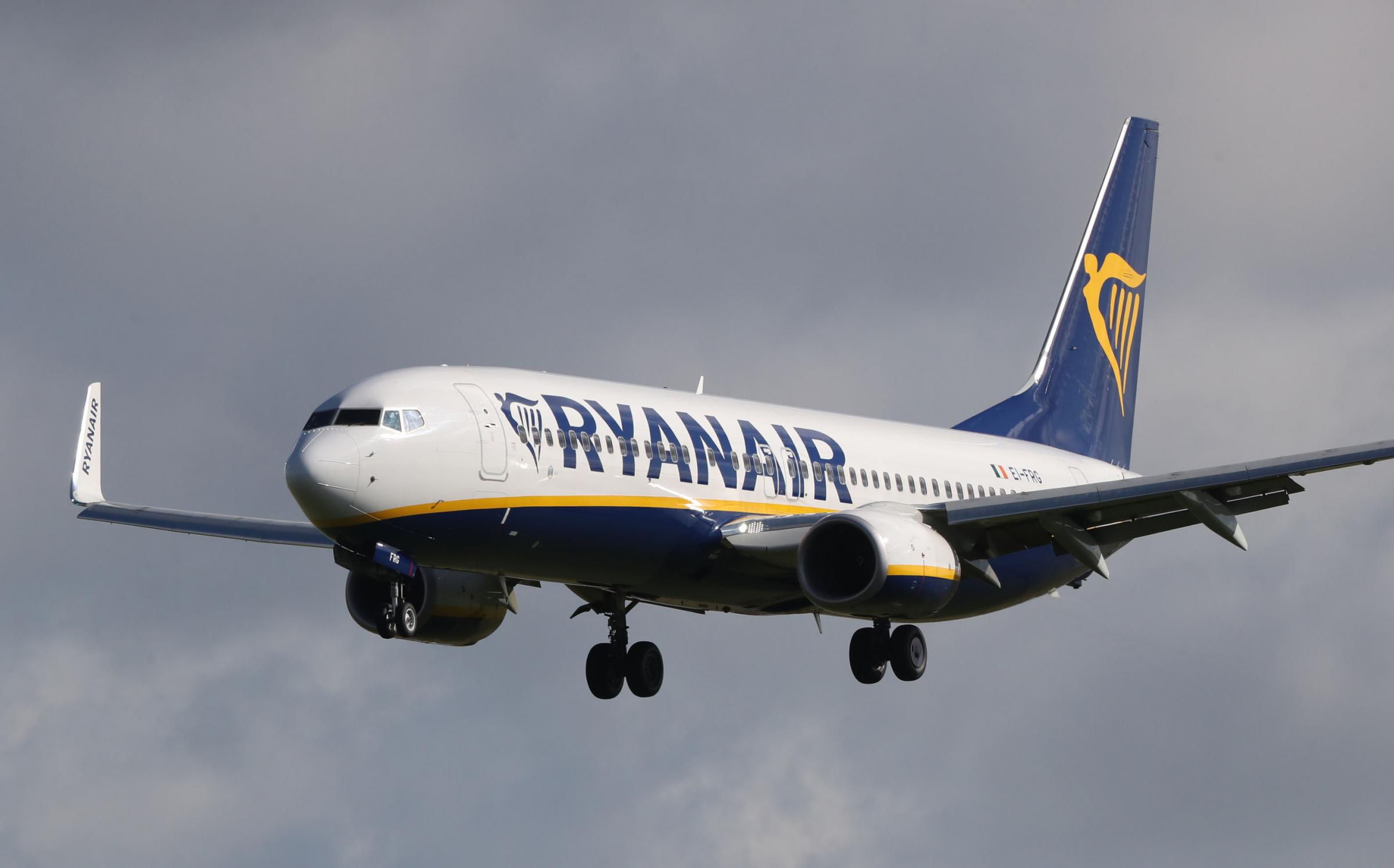 The new route will run twice a week as part of Ryanair's winter schedule