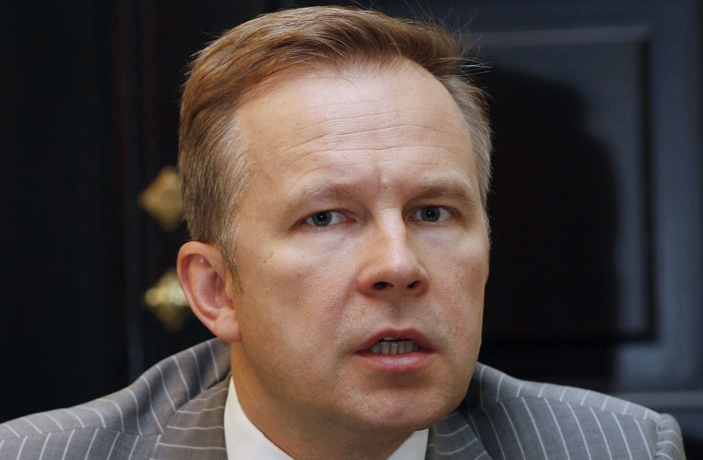 Ilmars Rimsevics, the governor of the Bank of Latvia, has stood firm