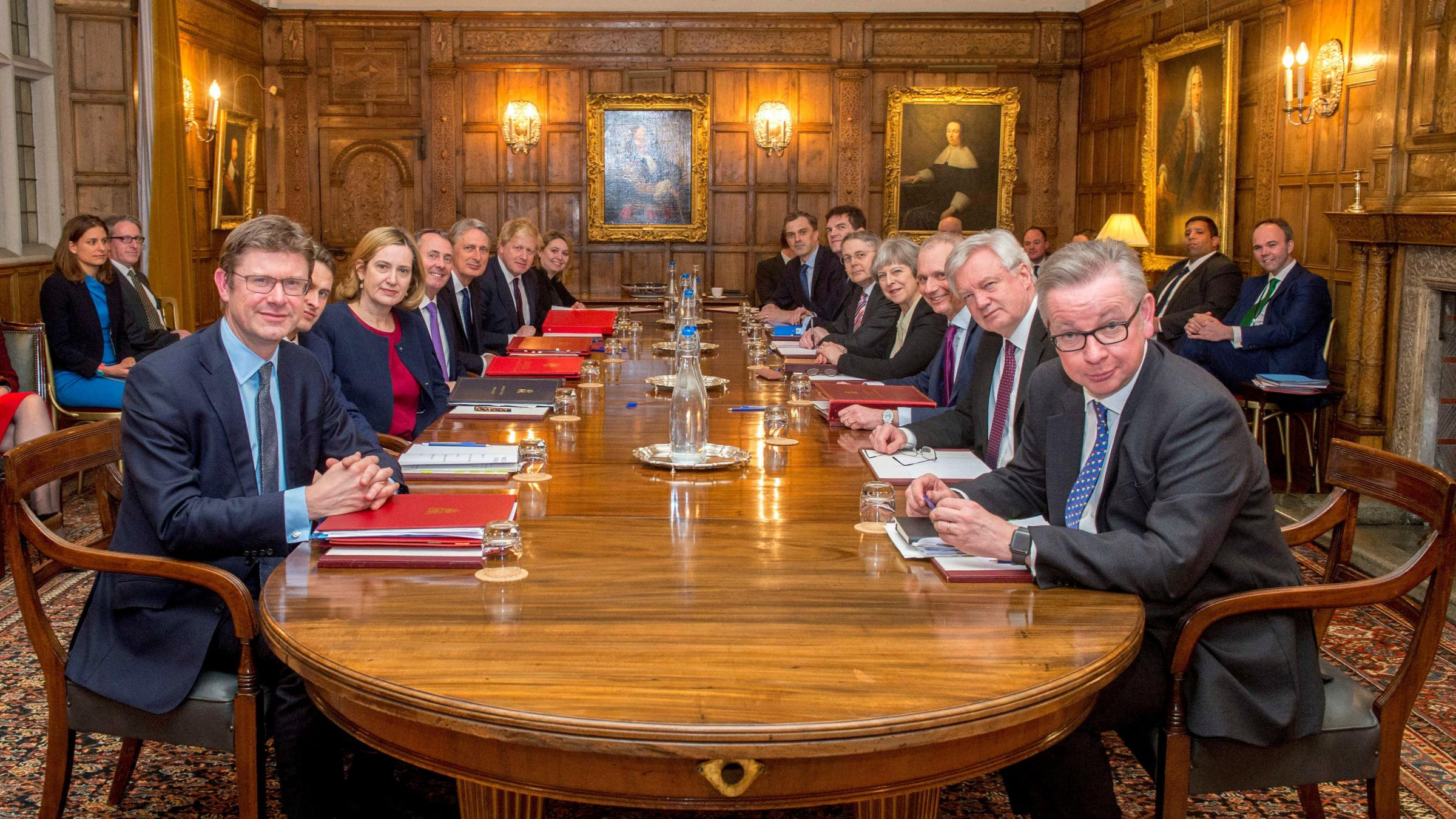 The Scottish Secretary was missing from the meeting