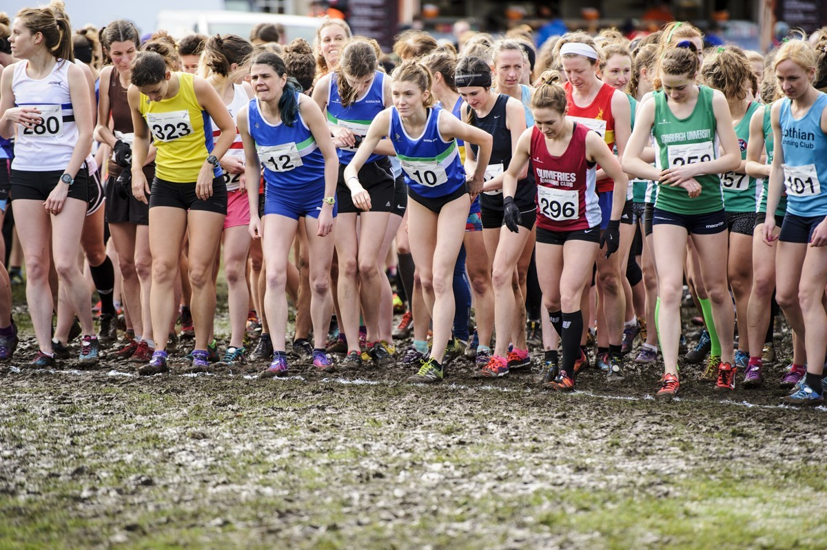 Over 2250 runners will race in the National XC Champs. Picture: Bobby Gavin