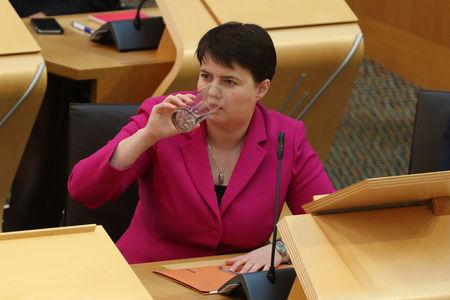 Ruth Davidson made a number of media appearances this week, but hasn't spoken up during the row over Dominic Cummings's lockdown trip