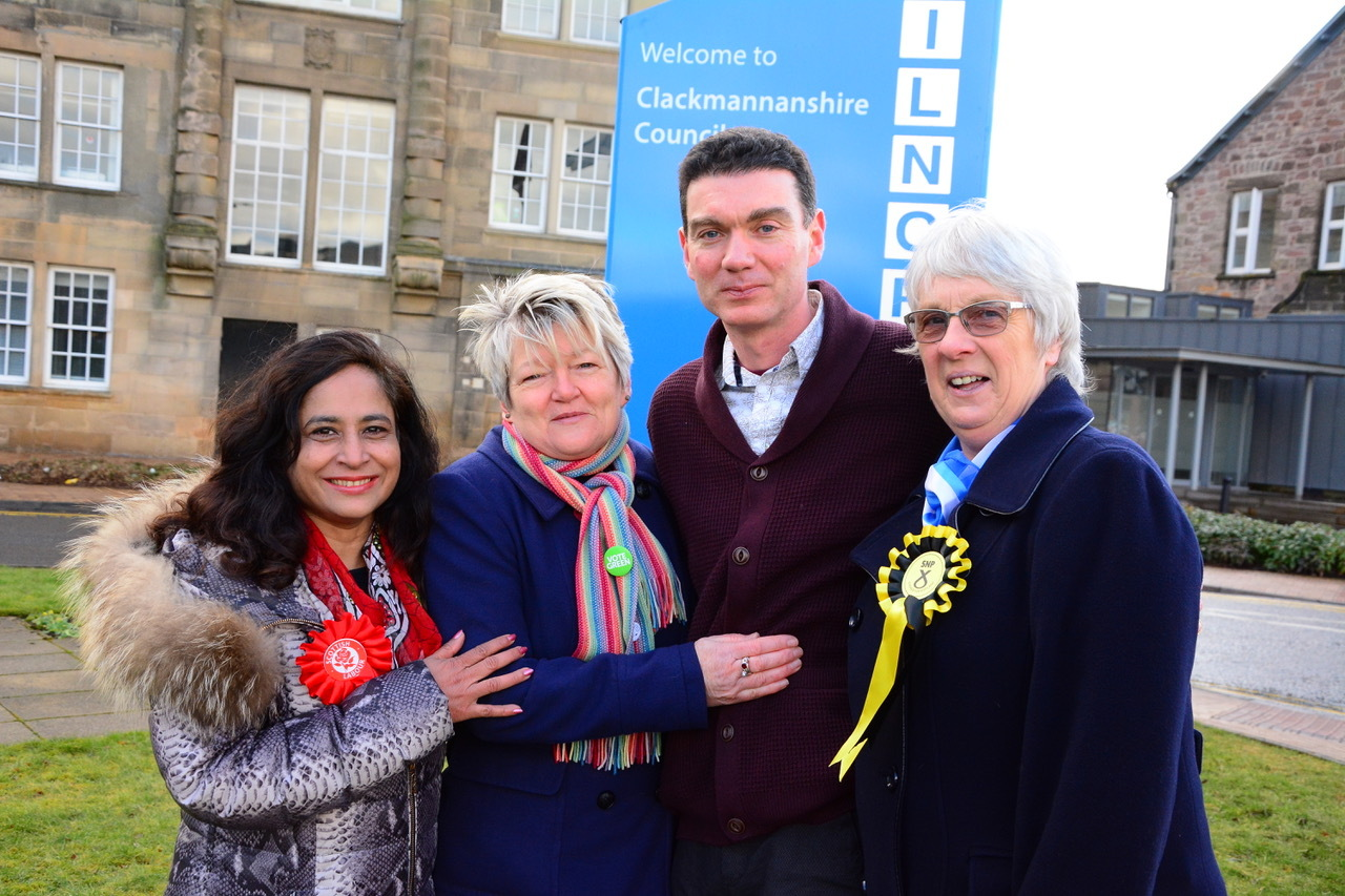The Candidates for the Clackmannanshire North ward by-election