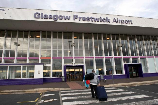 Prestwick Airport has amassed around £50m in debt since 2013