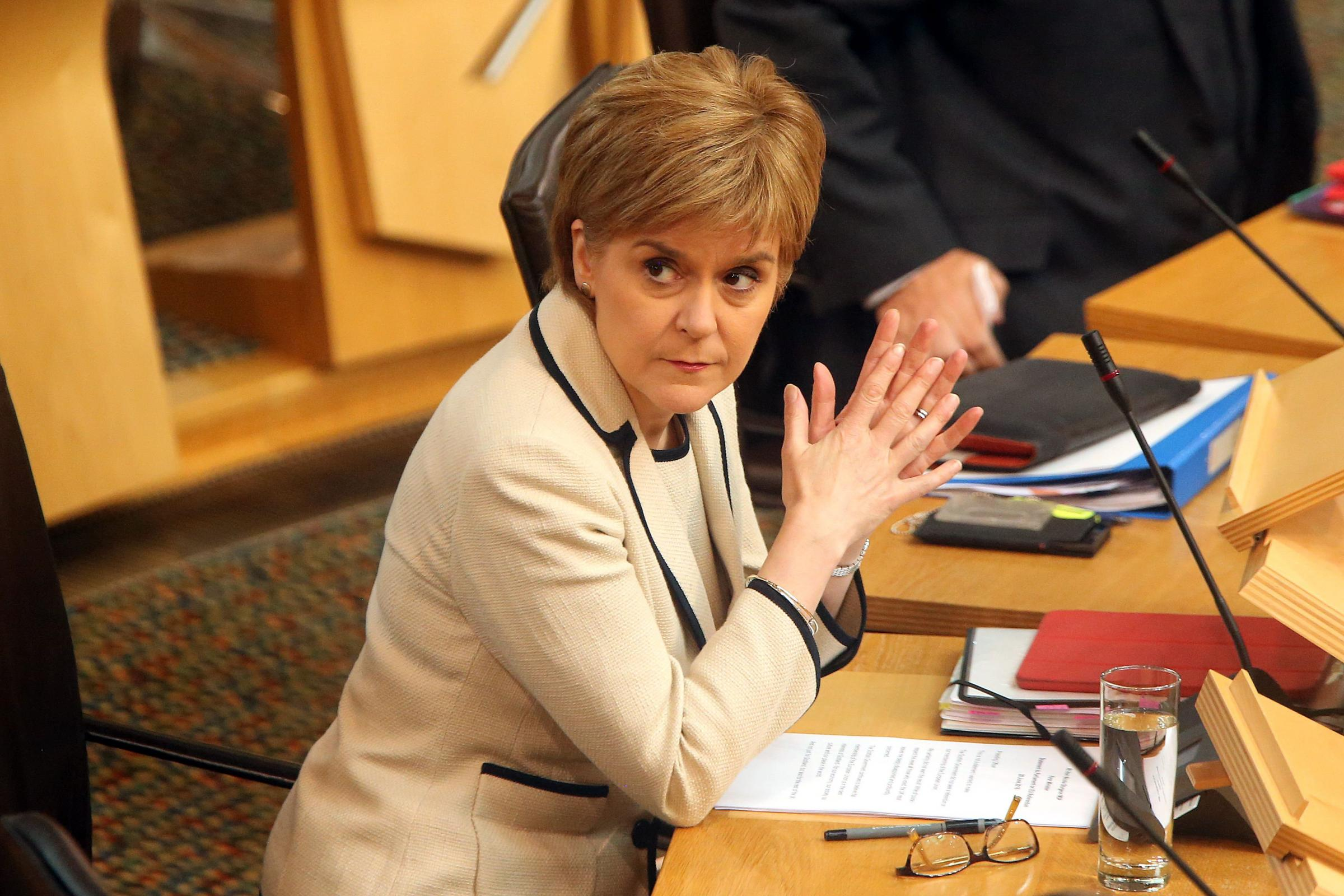 Sturgeon reveals Scotland's alternative Brexit Bill in dramatic clash with Westminster