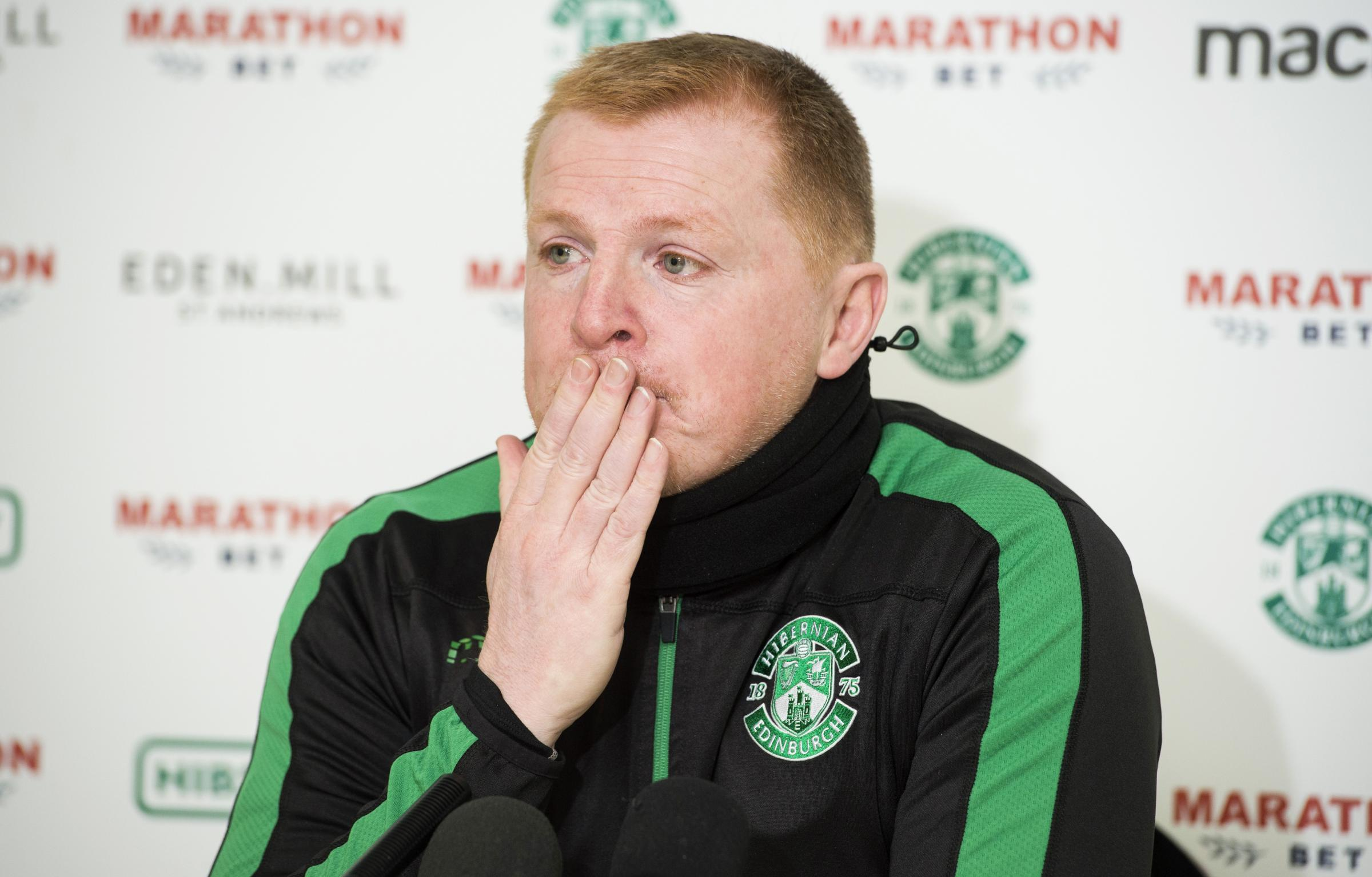 Neil Lennon said he regretted his reaction to his dismissal