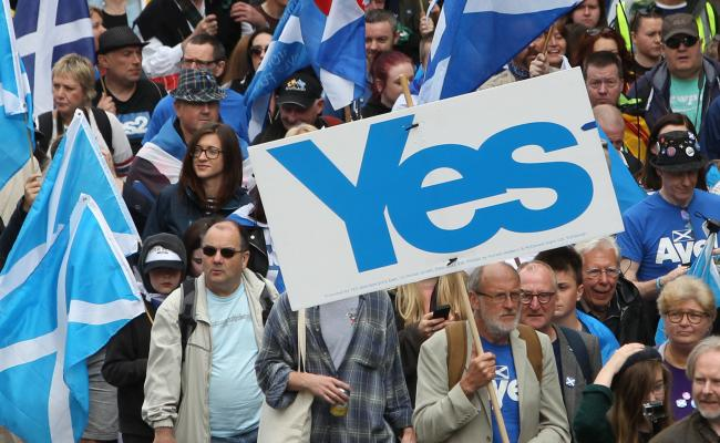 Latest poll shows support for Scottish independence climbing to 48%