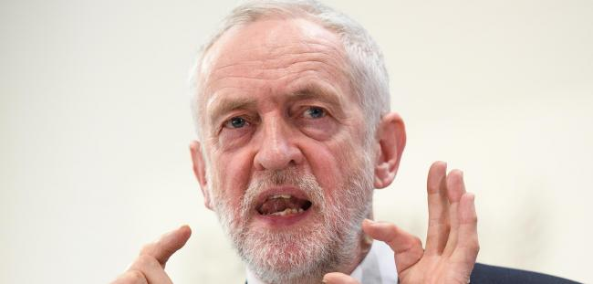Labour leader Jeremy Corbyn announced his support for customs union membership on Monday. Photograph: Getty