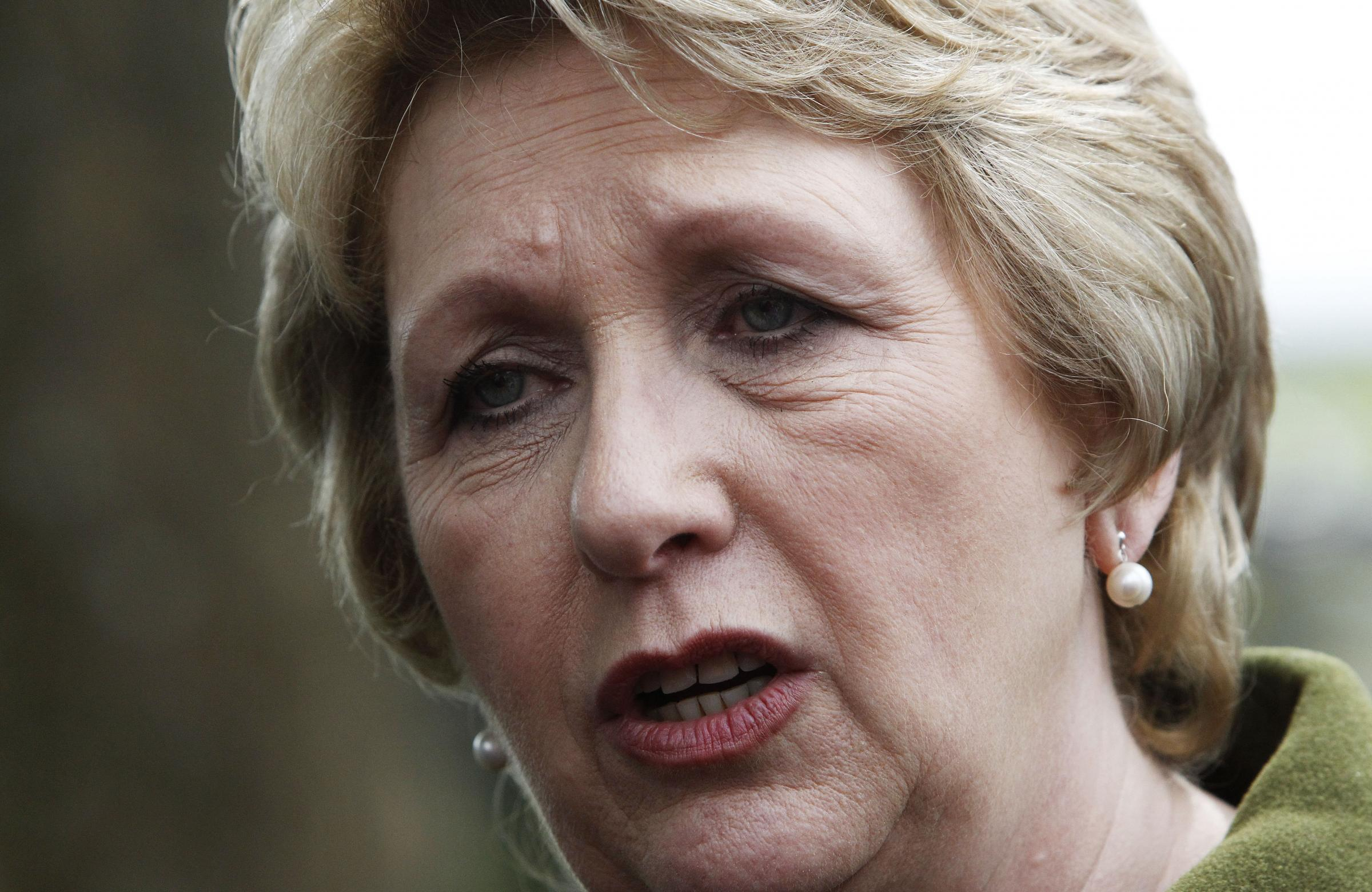 Former President of Ireland, Mary McAleese, made the comments during TV appearance with Alex Salmond. Photograph: Getty