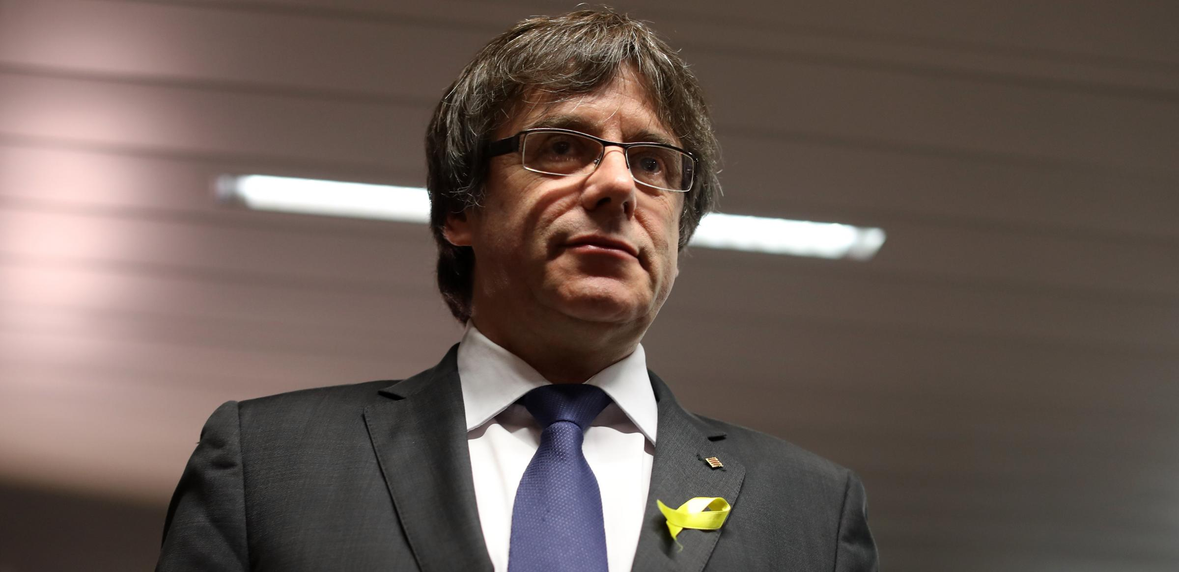 Ousted Catalan leader Carles Puigdemont has been in exile since last year