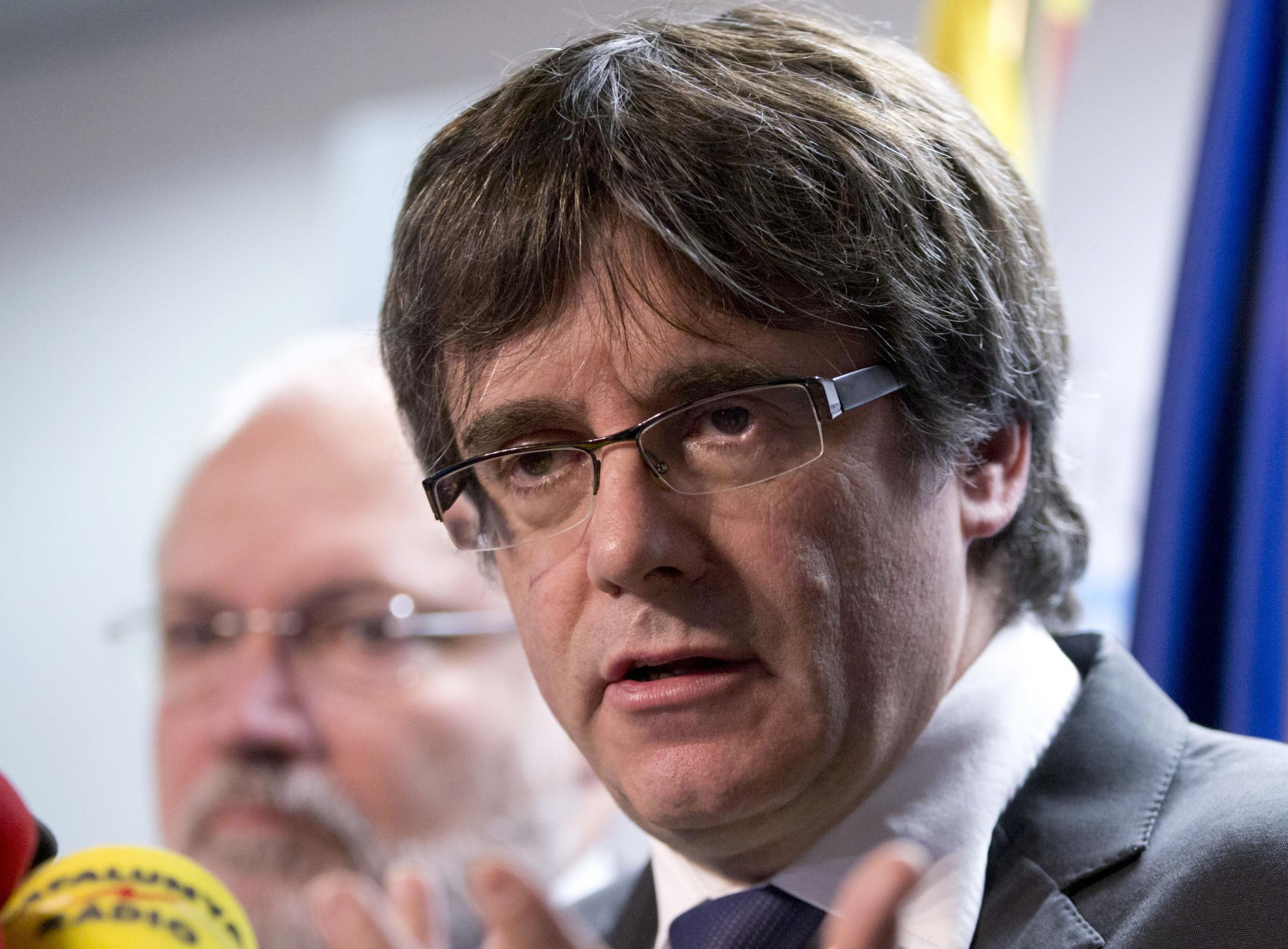 Puigdemont's case has been likened to the UK jailing Nicola Sturgeon and Salmond over independence