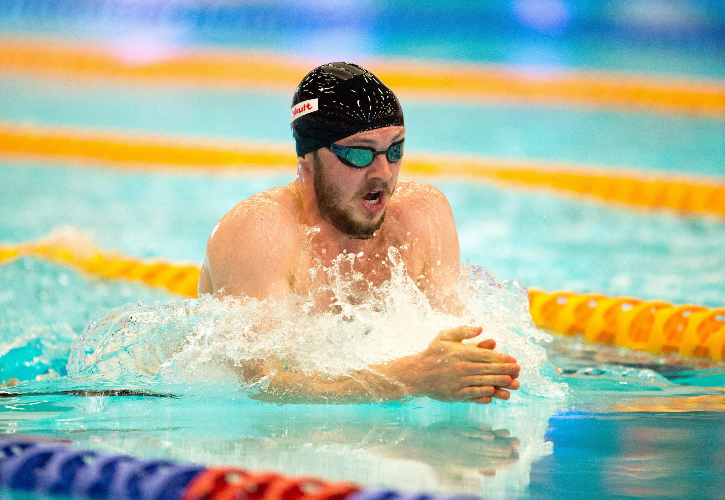 Ross Murdoch finished second in the 200m breaststroke at the British Championships in Edinburgh. Picture: PA Wire