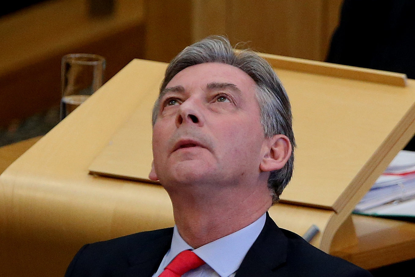 Richard Leonard will be praying for a snow day as Scottish Labour's spring conference closes in