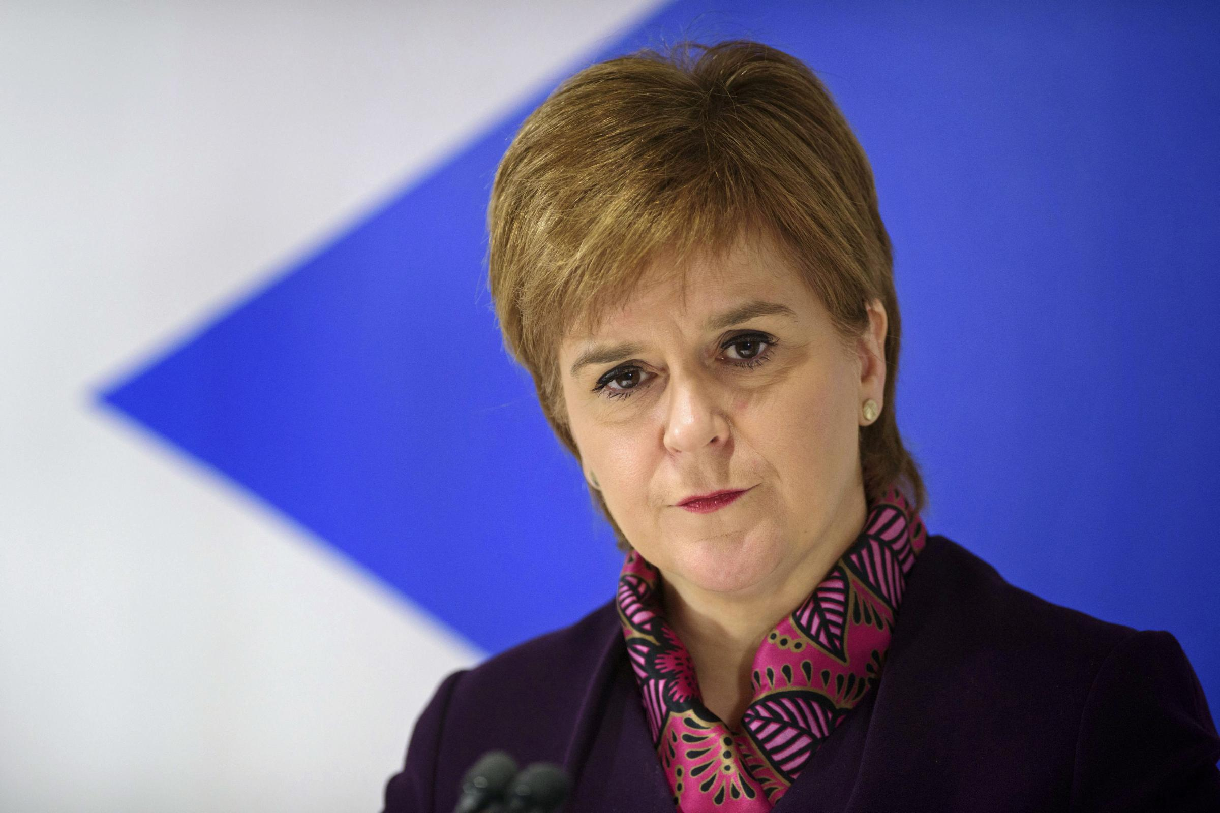 Scotland's First Minister Nicola Sturgeon is topping the poll