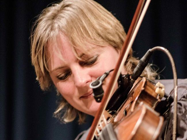 Eilidh Shaw is performing with Shooglenifty at Edinburgh's Tradfest